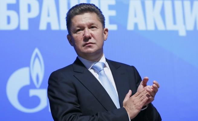 Шефът на Газпром Алексей Милер