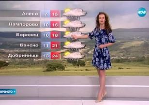 Прогноза за времето (22.05.2015 - обедна)