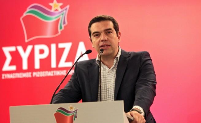 Гръцкият премиер Алексис Ципрас