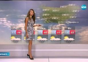 Прогноза за времето (02.07.2015 - централна)