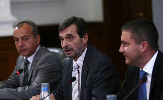 """Председателят на КТ """"Подкрепа"""" Димитър Манолов"""