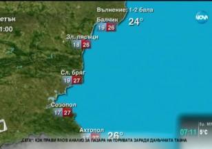 Прогноза за времето (28.08.2015 - сутрешна)
