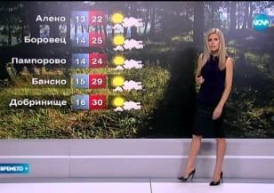 Прогноза за времето (03.09.2015 - централна)
