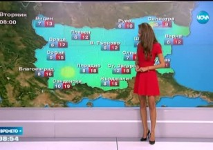Прогноза за времето (12.10.2015 - обедна)