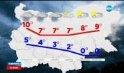 Жълт код за силни валежи в цяла България