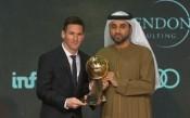 ВИДЕО: Меси с приз за №1 от Globe Soccer Awards