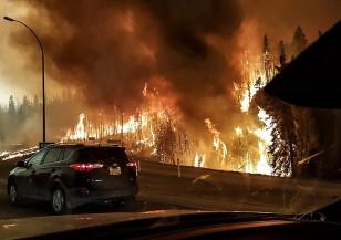 Пожарът в Канада изпепели напълно цял град