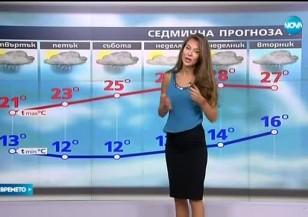 Прогноза за времето (26.05.2016 - обедна)