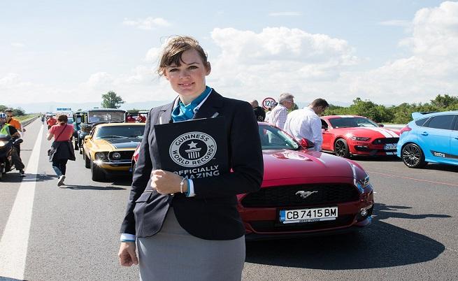 Лена Кулман, официален съдия на Гинес