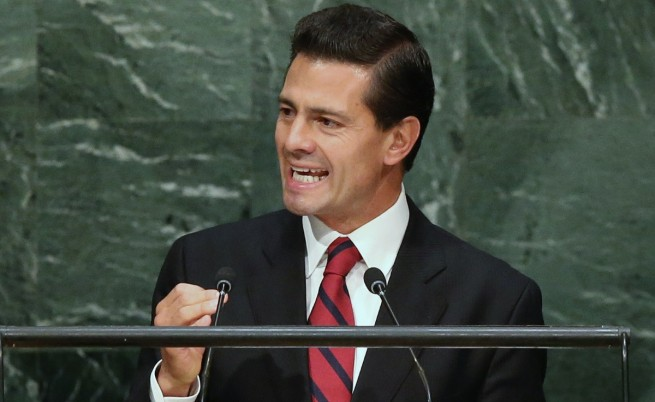 Президентът на Мексико Енрике Пеня Нието
