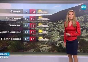 Прогноза за времето (29.08.2016 - сутрешна)