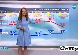 Прогноза за времето (31.08.2016 - централна емисия)