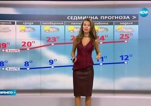Прогноза за времето (27.09.2016 - обедна емисия)