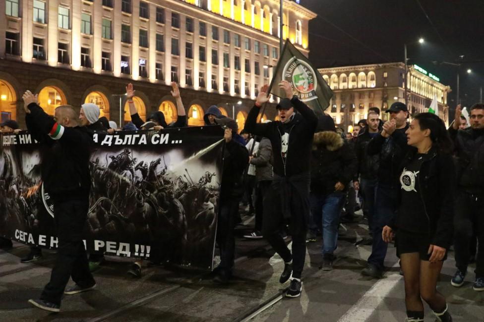 - Протестно шествие на Национална Съпротива срещу нелегалните имигранти в София