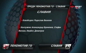 Локо ГО и Славия откриват 12-ия кръг
