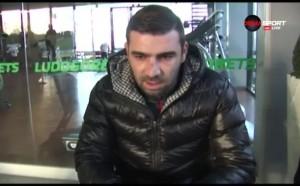 Владо Стоянов: Надявам се на трансфер зад граница