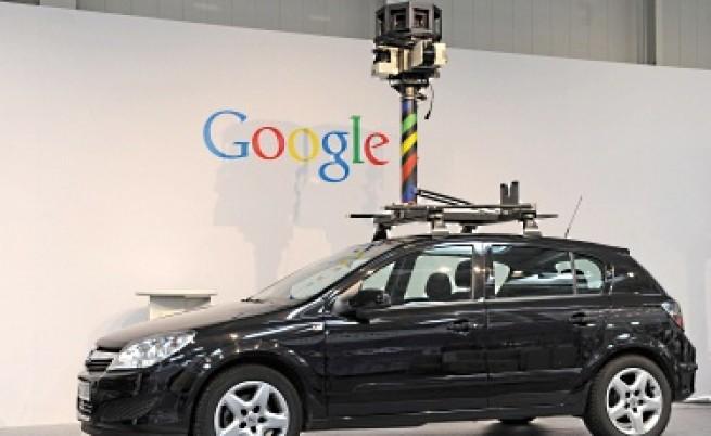 """Автомобил, използван за заснемане на улици за системата """"Гугъл Стрийт вю"""""""
