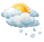 Предимно облачно, кратък сняг
