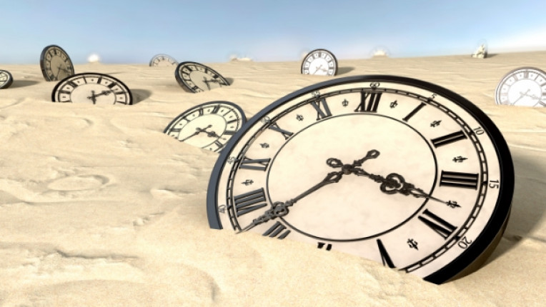 часовник пясък пустиня време