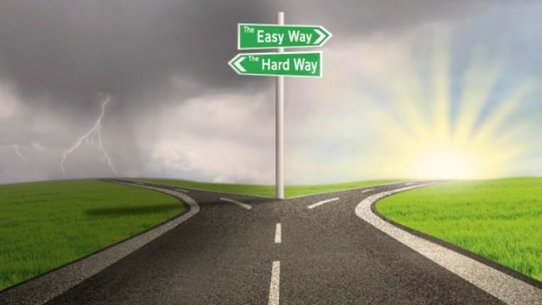 избор път решение