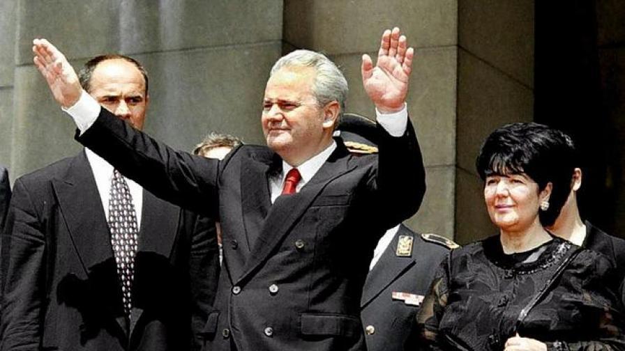Съпругата на Милошевич подържала връзка с убиеца на Чурувия