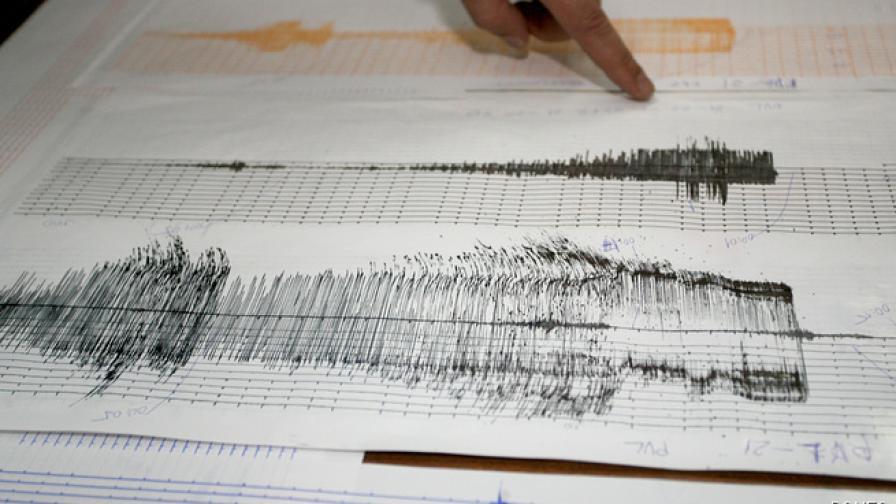 Земетресение с магнитуд 4,8 разлюля Румъния