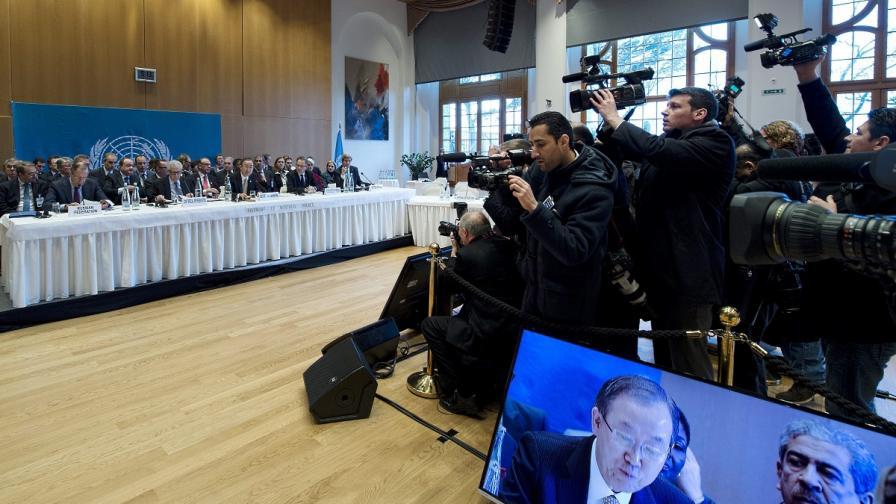"""Световните медии за """"Женева-2"""""""