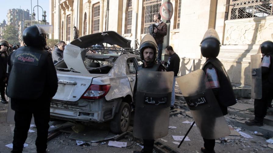 Серия атентати в Египет