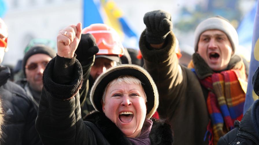 В Киев окупираха още едно министерство