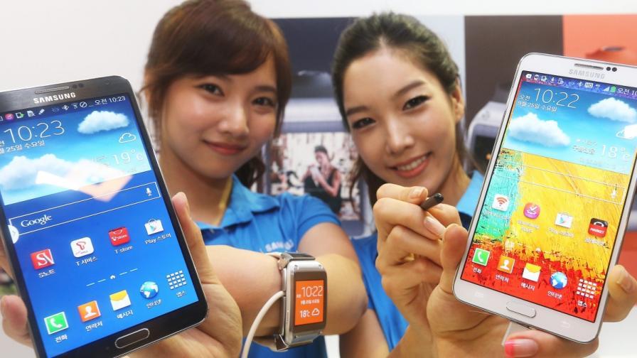 Над 1 млрд. смартфона продадени през 2013 г.