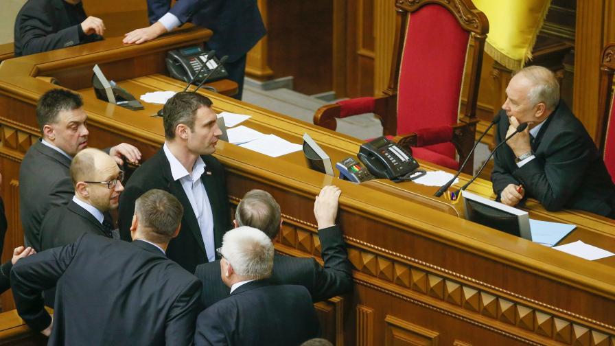 Украинската опозиция: Протестите продължават, условията за амнистия са неприемливи