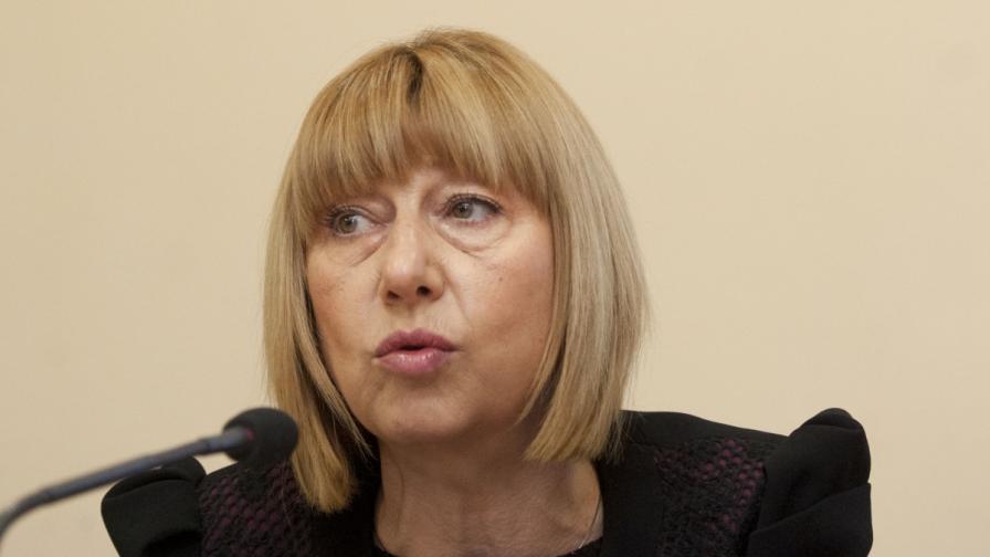 Министър Анелия Клисарова