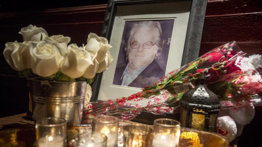 Смъртта на Филип Сиймор Хофман шокира Холивуд