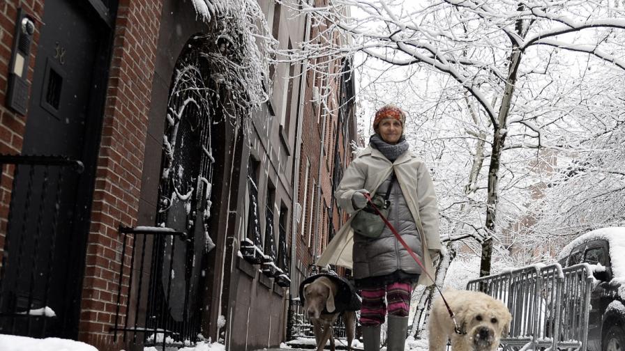 Снежна буря връхлетя източната част на САЩ