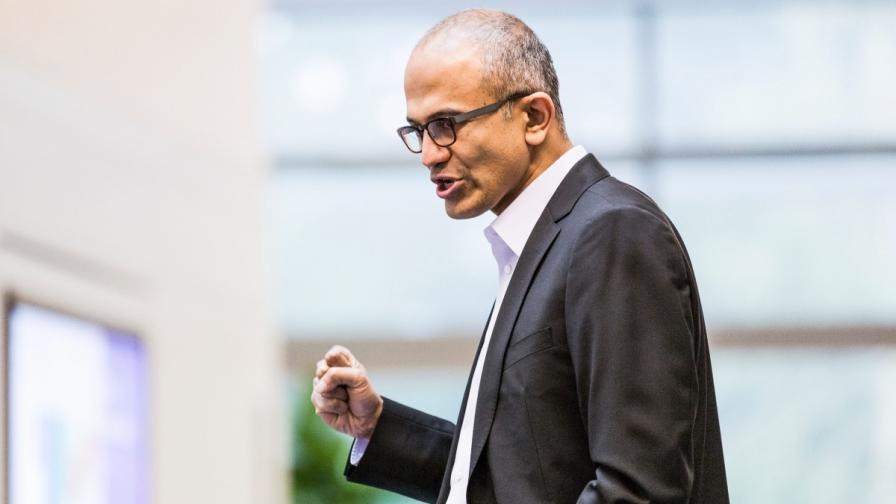 """Новият изпълнителен директор на """"Майкрософт"""" Сатя Надела"""