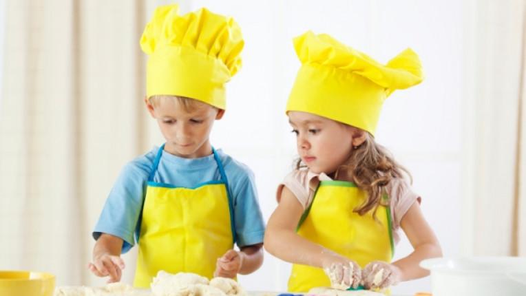 деца дете кухня шапка