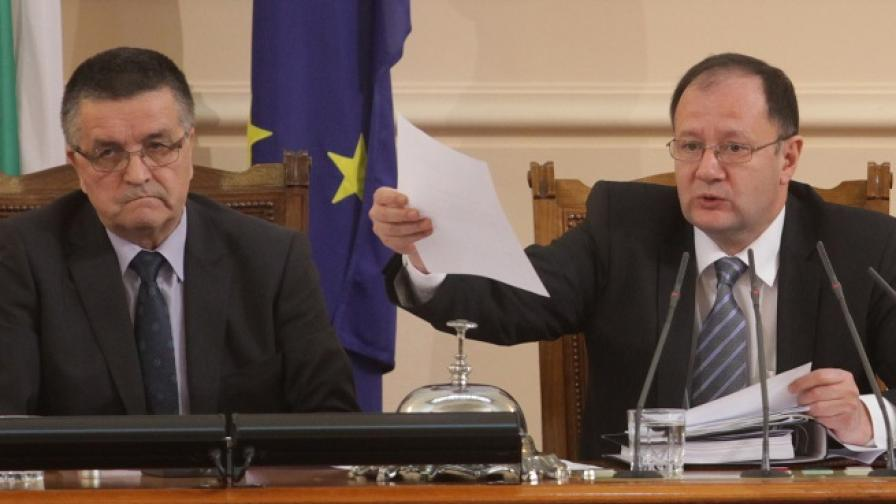 Скандали в парламента заради новия Изборен кодекс