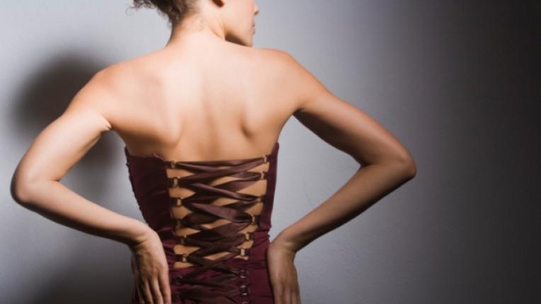 корсет бельо фигура тяло жена