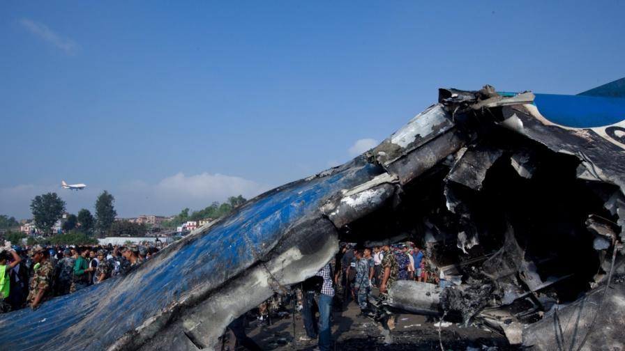 Самолетните катастрофи не са рядкост в Непал