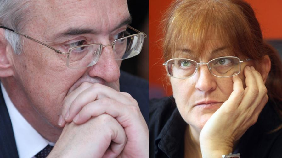 Огнян Донев и Светлана Джамджиева