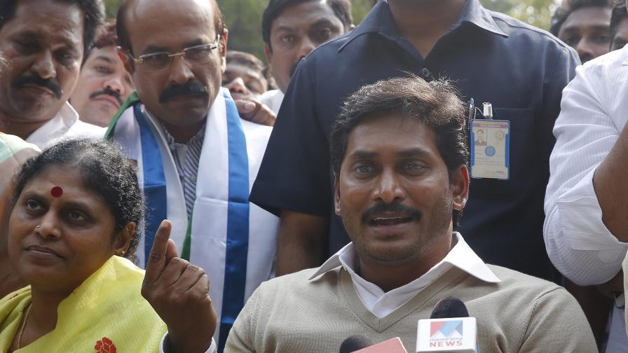 Безредици в индийския парламент заради план за нов щат