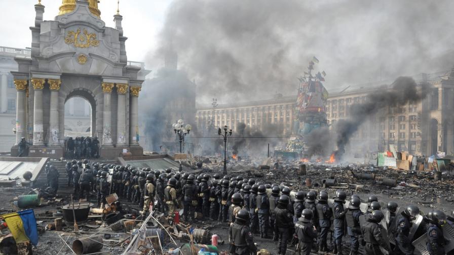 Властта в Киев: Това е опит за преврат