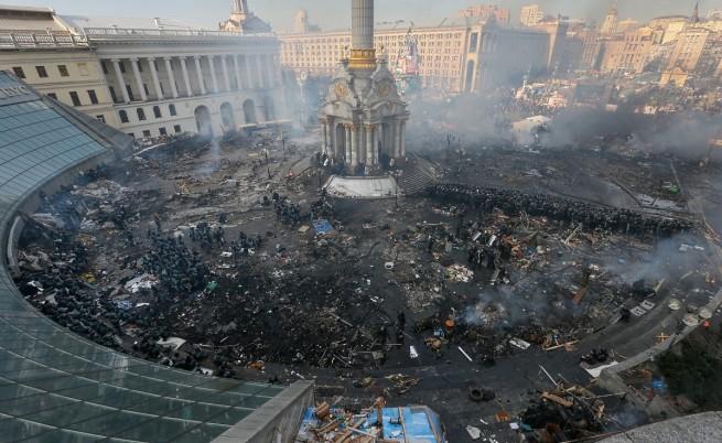 Площад Независимост в Киев