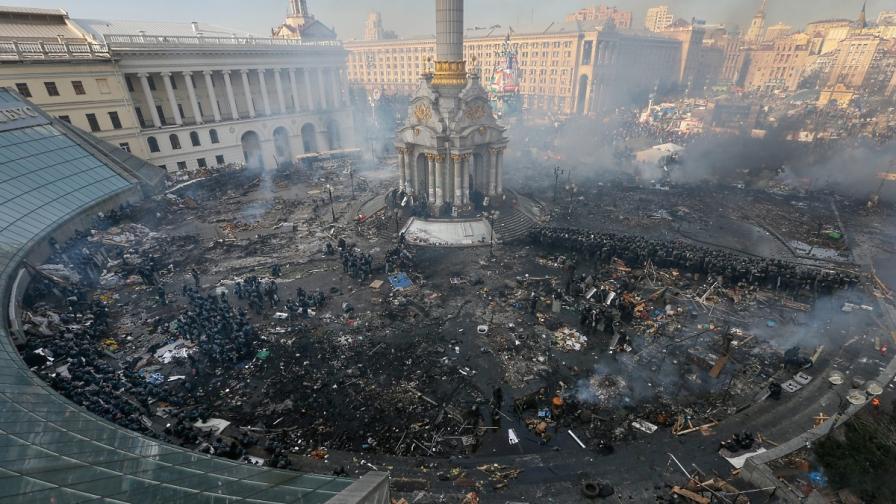 """Площад """"Независимост"""" в Киев"""