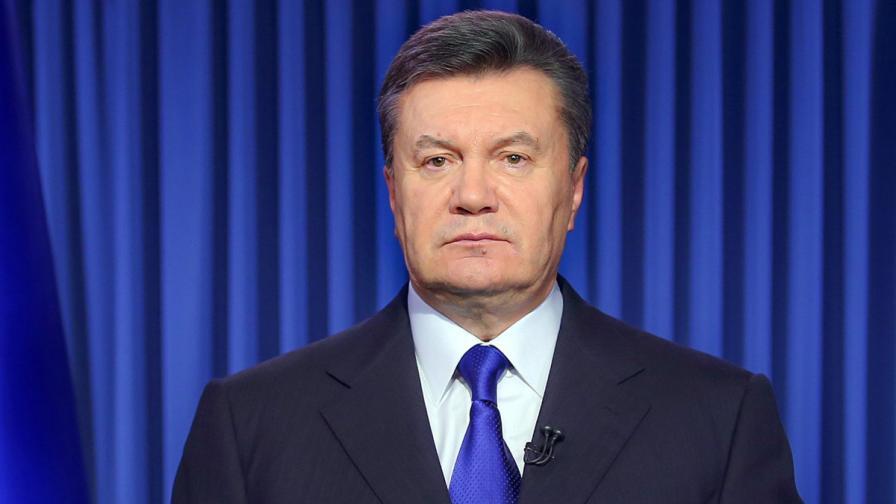 Внесен е законопроект за отстраняване на украинския президент Янукович