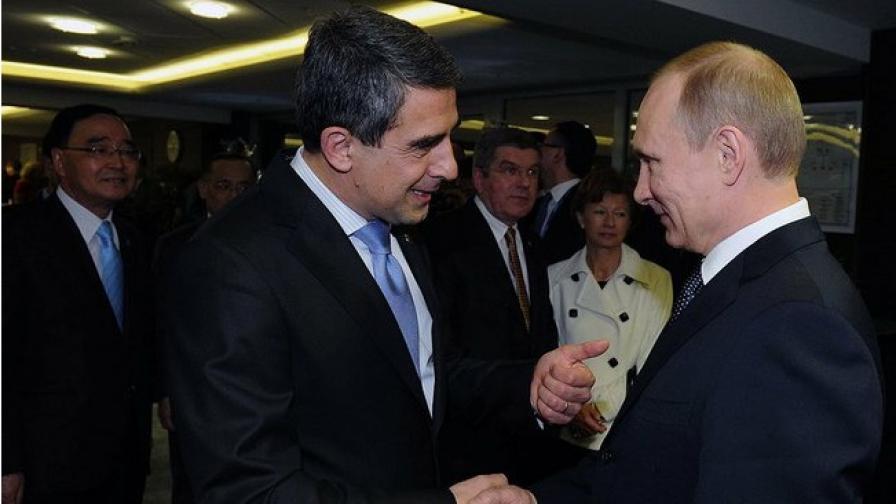 Плевнелиев: Ако това е двустранна среща, аз съм олимпиец