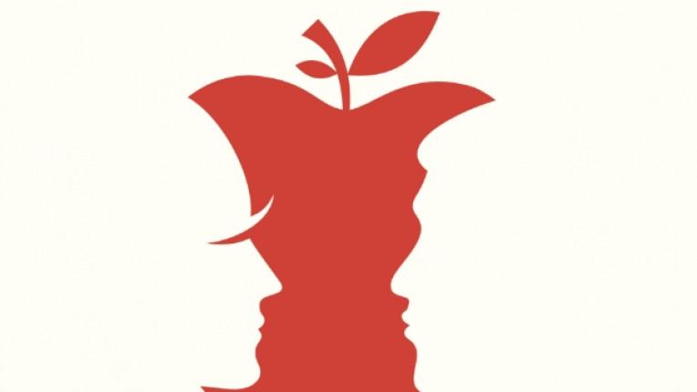 любов ябълка мъж жена