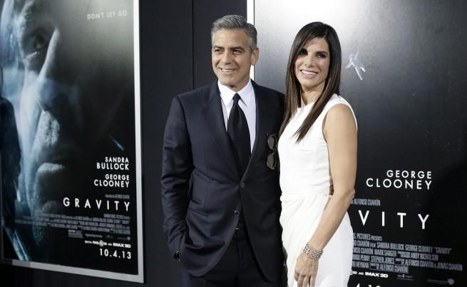 Джордж Клуни и Сандра Бълок