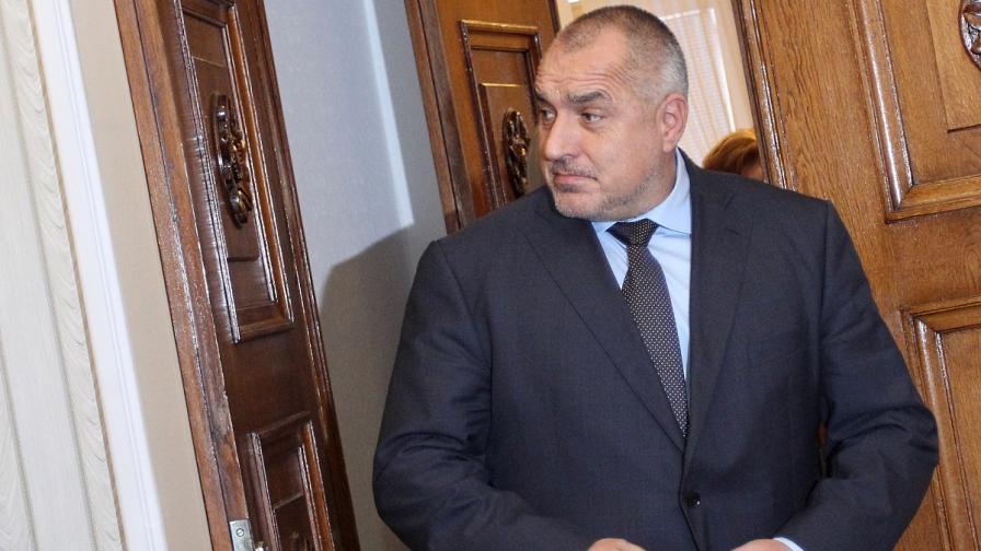 Борисов: ГЕРБ е в готовност да гласува оставка на правителството