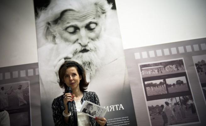 Цветелина Бориславова откри изложба за Дънов